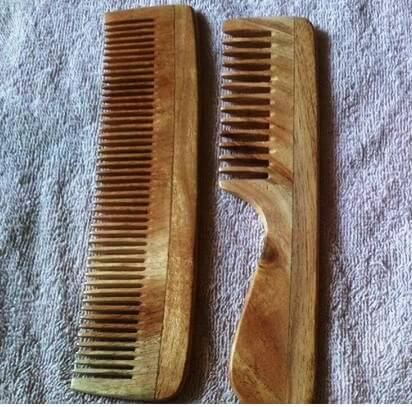 Wooden combs I use