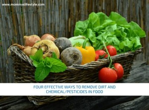 Remove Dirt and Pesticides in Food Using These 4 Simple Ways