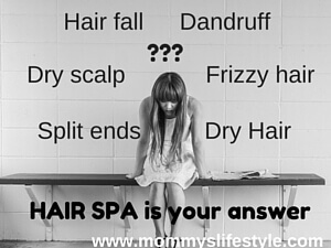 homemade hair spa