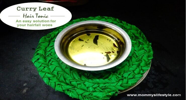 curry leaves hair tonic recipe