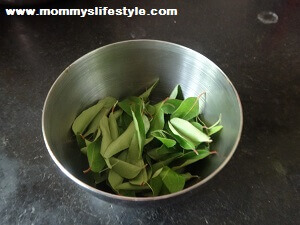 curry leaves tonic