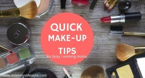 Quick Makeup Routine for Busy Moms