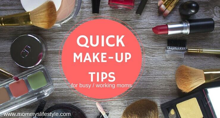 quick makeup routine