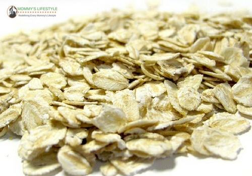 oats for dry cracked feet